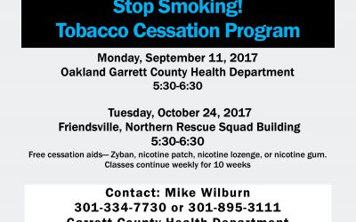 Two Cessation Classes Scheduled For Fall