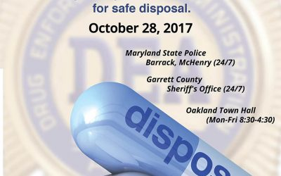 In Garrett County, Every Day is a Good Day to Get Rid of Unwanted Prescription Drugs