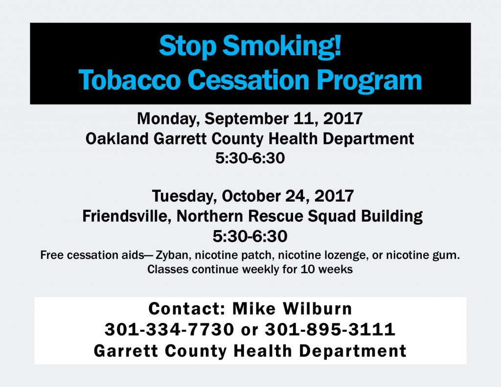 Fall Cessation Classes