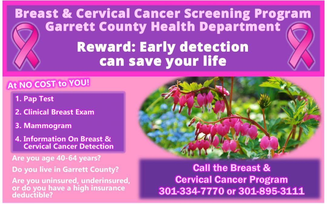 Breast & Cervical Cancer Screening Program Promo