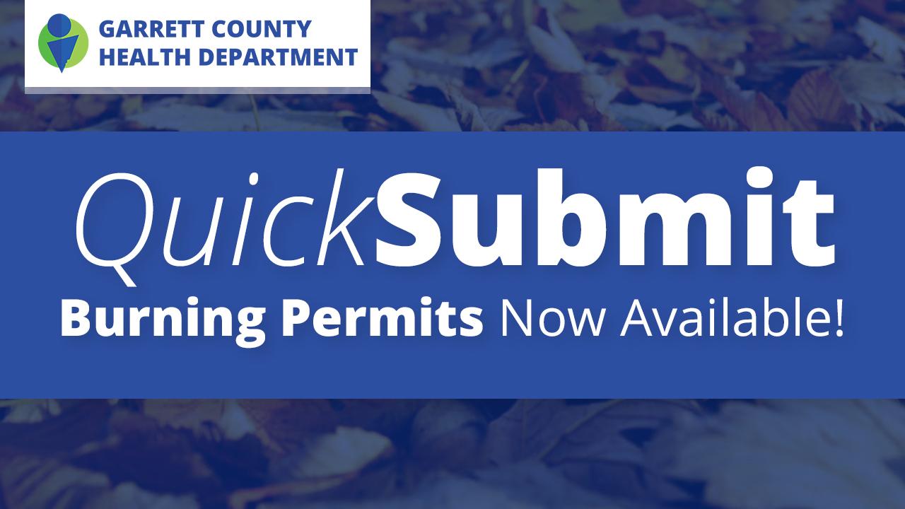Open Burning Permits - Garrett County Health Department